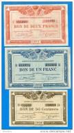 Quimper  Brest  3  Billets - Chamber Of Commerce