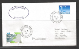 1988 Paquebot Cover, Netherlands Stamps Mailed In Goteborg, Sweden - Period 1980-... (Beatrix)