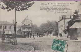 19  °°  Brive  :-   Le  Square  Majour  Route  De  Bordeaux   ***   écrite  15-02-1910 - Brive La Gaillarde