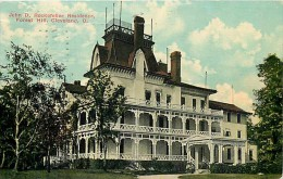 235123-Ohio, Cleveland, Forest Hill, John D Rockefeller Residence, Souvenir Post Card Co 24251