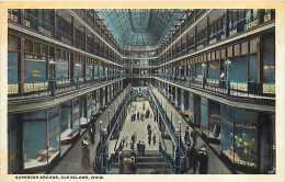 235129-Ohio, Cleveland, Superior Arcade Interior, Braun Post Card Co No 95