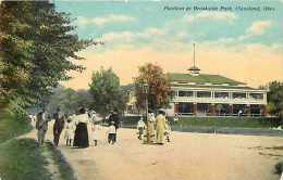 235133-Ohio, Cleveland, Brookside Park, Pavilion, Braun Post Card Co No A-11490