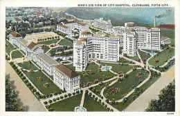 235137-Ohio, Cleveland, City Hospital, Braun Post Card Co No 205 by Curt Teich No 93484