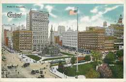 235141-Ohio, Cleveland, Public Square, E. Fenberg by Commecialchrome No 48039-5