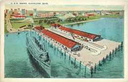 235143-Ohio, Cleveland, Cleveland & Buffalo Transit Co Steamship Docks, New Pier, Geo R Klein by Tichnor Bros No 108348
