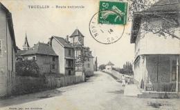 Thuellin - Route Nationale - Edition Perrin, Papetier - Autres Communes