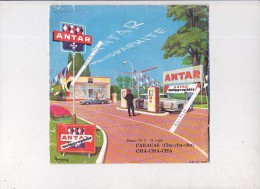 pochette et disque vinyle --station service antar---ann�es 1950/ 1960