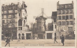 CPA - PARIS - Le Moulin Rouge - Animée - Unclassified