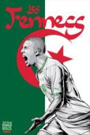 STICKER SIZE.6,5X9,5 CM. APROX - WORLD CUP FOOTBALL BRASIL 2014 - ALGERIA - Otros