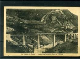 AIN  -  01-13  -  VALLEE DU RHÔNE - VIADUC DE SAVOIE ET FORT DE L´ECLUSE - Ponts