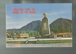 86377 MONUMENTO EN LA LINEA EQUINOCCIAL  ECUADOR SUDAMERICA - Ecuador