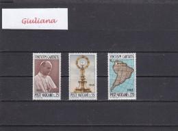 Vaticano 1968- S. 121** (Sassone)  Visita Di Paolo VI A Bogotà - Vatican