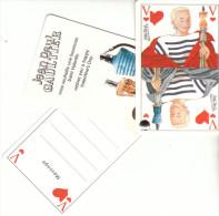 CARTE PARFUMEE JEAN PAUL GAULTIER - Perfume Cards