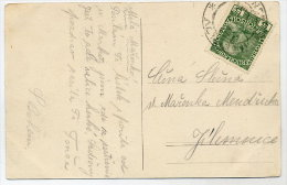CZECHOSLOVAKIA 1918 B/W Postcard (Brevnov Monastery) With Austria 5 H. - Czechoslovakia