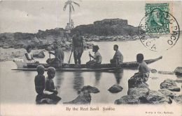 OCEANIE ILE SAMOA  BY THE REEF SAVII  PIROGUE   ETHNOLOGIE - Samoa