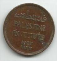 Palestine 1 Mil 1927. - Otros – Asia