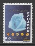 Ecuador (2000) Yv. 1519  /  Rose - Flower - Blumen - Fleur - Rose