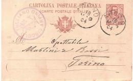 C.P. CENT.10ANN. ARPINI 18.MAG.04 TIMBRO CIRCOLO TULLIANO ARPINO - Entiers Postaux