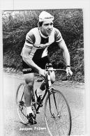 Jacques FRIJTERS , Autographe Manuscrit, Dédicace. 2 Scans. Photo Glacée - Cycling