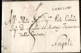 Lanciano-00370 - Piego (senza Testo) Del 6 Giugno 1822 - - 1. ...-1850 Prefilatelia