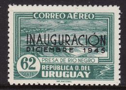 Uruguay #C120, F-VF Mint NH ** Power Dam Inauguration - Uruguay