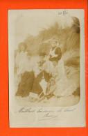 Carte Photo à Identifier Le Lieu (pli) - Cartes Postales