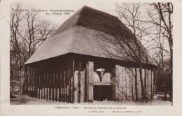 EXPOSITION COLONIALE INTERNATIONALE DE PARIS 1931- CAMEROUN TOTO ENTREE DU PAVILLON DE LA CHASSE - Ausstellungen