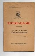 Bulletin De L'Ecole Et Des Anciens Elèves De Notre Dame Des Aydes BLOIS - Diplômes & Bulletins Scolaires
