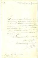 HANDGESCHREVEN INHOUD BRIEF Uit 1826 Geschreven Door GEDEPUTEERDE STATEN UTRECHT Aan De BURGEMEESTER Te DARTHUIZEN (9561 - Netherlands