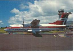 N° 10 - AIR MAURITIUS - ATR 42-300 - St-DENIS DE LA REUNION ( Photo :  Christian LAUGIER ) - 1946-....: Ere Moderne