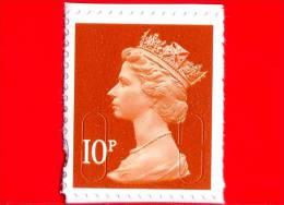 GB  UK GRAN BRETAGNA - USATO - 2013 - Regina Elisabetta II - Security Machin - 10P - 1952-.... (Elisabetta II)
