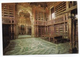 Portugal--COIMBRA-- Biblioteca De Universidade. - Bibliothèque De L'Université.cpm  éd EP - Bibliothèques
