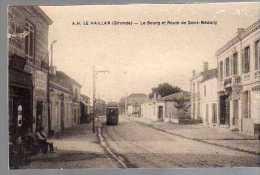 Le Haillan,le Bourg Et Route De Saint-médard - France