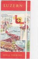 Shell Touring - Luzern - Dépliants Touristiques