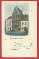 Mechelen / Malines - Maison Gothique  -1902 ( Verso Zien ) - Malines