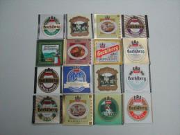 32 Beerlabels Brauerei Hacklberg / Passau - Bier