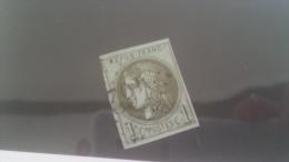 LOT 241307 TIMBRE DE FRANCE OBLITERE N�39B VALEUR 200 EUROS
