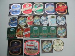 46 Beerlabels Brauerei Peinig - Bière