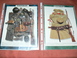UNIFORMES DETAILS EQUIPEMENT FANTASSIN   ALLEMAND  /  JAPONAIS  GUERRE WWI 1914/18 / - Uniforms