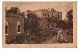 C P A--LIBAN--BEIRUT--JOHANNI TER HOSPITAL--voir 2 Scans - Liban