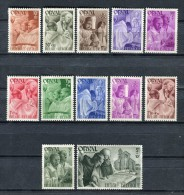 Belgique 1942. Yvert 556-67 ** MNH. - Neufs