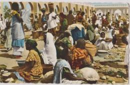 afrique,TCHAD en 1965,FORT LAMY,le march�,maintenant n�ndjamena,sahel africain,metier,job,comme rce,commer�ant