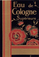 """0888 """"EAU DE COLOGNE SUPERIEURE"""" ETICHETTA  ORIGINALE. - Labels"""