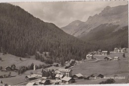 SUISSE,HELVETIA,SWISS,SWI TZERLAND,SVIZZERA,SCHWEIZ ,MORGINS,VALAIS,1952,été, Terrain,hotel,vue Des Airs - VS Valais