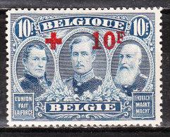 163*  Croix-Rouge - LA bonne valeur - Timbre sign� - MH* - LOOK!!!!