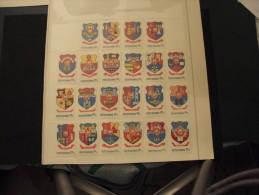ROMANIA - 1980 STEMMI 22 Valori -NUOVI(++) - 1948-.... Républiques