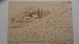 AK Winterlandschaft Vom 22.12.1904 - Leipzig