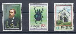 140017253  TRINIDAD Y TOBAGO   YVERT  Nº  671/3  **/MNH - Trinidad & Tobago (1962-...)