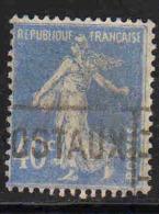 FRANCE : N° 237a Oblitéré (Type Semeuse Fond Plein) - PRIX FIXE : 1/3 De La Cote - - 1906-38 Sower - Cameo
