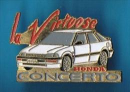 PIN´S //   . HONDA CONCERTO LA VIRTUOSE - Honda